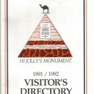 Quartzite, Arizona 1991-1992 Visitor's Directory and Map Guide Brochure