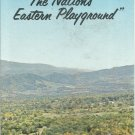 Vintage The Potomac Highland of West Virginia   brochure-