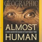 National Geographic- October 2015-  Almost Human