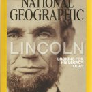 National Geographic- April 2015- Lincoln Looking for his Legacy Today