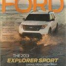 My Ford Magazine- Spring 2013- The 2013 Explorer Sport