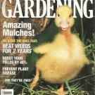 Organic Gardening-  July/August 1997- Amazing Mulches