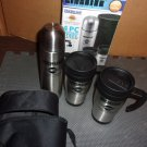 Silver Star Finelife 4 pc. Stainless Steel Travel Mug Set-