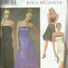 Simplicity pattern 5221 Jessica McClintock- Size BB 11/12-15/16 uncut