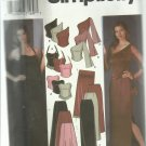 Simplicity pattern 5301- Size DD 4,6,6,10- Misses' evening tops, skirt,shawl,