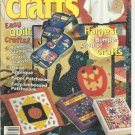 Quick & Easy Crafts- October 1998- easy quilt crafts, photo transfer,