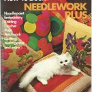 Simplicity's How-to-Book Needlework Plus 1974- knitting , quilting, more