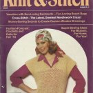 Woman's Day Knit & Stitch- No. 15- June 1978. Fashion Forcast for Fall 1978