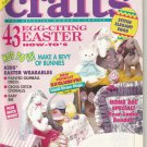 Crafts the creative woman's choice- April 1992- easter how-tos