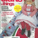 Crafts'n Things magazine- June/July 1994- Sizzling Summer wearables.