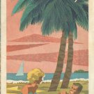1964 Florida Tourgide vacation map- Gulf