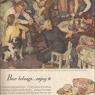 Jan. 1948  Beer Belongs. .. enjoy it  ad  (# 5743)
