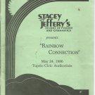 Stacey Jeffery's Studio of Dance & Gymnastics presents Rainbow Connection-  1986