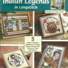 The Needlecraft Shop Plastic Canvas Indian Legends in longstitch leaflet 843471