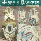 The Needlecraft Shop Plastic Canvas Indian Wedding Vases & Baskets leaflet 203020