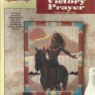 The Needlecraft Shop Plastic Canvas Victory Prayer leaflet 852635