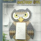 The Needlecraft Shop Plastic Canvas Message Owl leaflet 400449