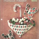 The Needlecraft Shop Plastic Canvas  Parasol Planter leaflet 954025