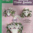 The Needlecraft Shop Plastic Canvas Umbrella Flower baskets leaflet 400453