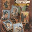 The Needlecraft Shop Plastic Canvas    Native American Portraits leaflet 973388