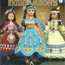Annie's Attic  Crochet Indian Maidens leaflet 874311