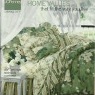 J C Penney  Spring Home Values Catalog 2004