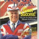 Northwest Airlines World Traveler magazine- April 1995 (#2) cover has damage
