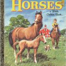 Horses a little golden book by Blanche Chenery Perrin