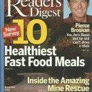 Readers Digest-    November 2002  (#2) 10 Healthiest Fast Food Meals