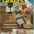 Creative Crafts magazine- April 1979- huck weaving, folk dolls.