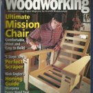 Popular Woodworking magazine-  June 2000- # 115- Ultimate Mission Chair