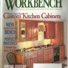 Workbench magazine- September/ October 2000- Space saving bench