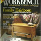Workbench magazine-  April 2002-  Transform your kitchen cabinets