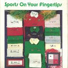 Sports on Your Fingertips leaflet Booklet No. 17 Reba's Creations