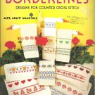 Borderlines designs for counted cross stitch leaflet