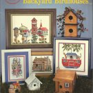 Backyard Birdhouses leaflet Designs by Melinda- counted cross stitch CSB-123.