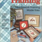 Plaid's Framing Collection Needlework Framing made easy # 8184 by Kay Evans