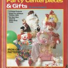 Sweet Treat People Party Centerpeice & Gifts booklet # 8669- Plaid