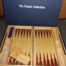 Backgammon- The Classic Collection boxed- Folding