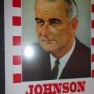 Elect Johnson Vote Democrat   reproduction poster14x22 unframed