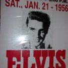Elvis Presley &  Jordanaires Jan. 21, 1956  reproduction poster 14x22 unframed.