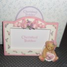 Avon Cherished Teddies Girl Cupid Picture Frame from 2001 Avon Exclusive