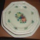 Avon Sweet Country Harvest 3 pc. set- dinner  plate, bowl, salad/dessert plate