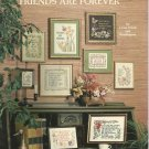Alexa Designs Friends are Foever for cross stitch and needlepoint booklet