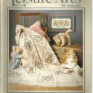Leisure Arts the Magazine- April 1988- Victorian Throw, Easter Jars
