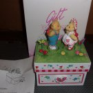 Kissing Bears Music Box- Avon Gift Collection. c2003.