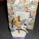 Cherished Teddies Monthly Carousel Birthstone  Figurine - June-  c2000 in box