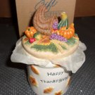 Country Harvest Candle- Thanksgiving- Avon Exclusive c2002