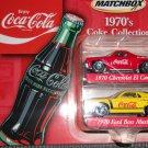 Matchbox Coke 1970's  Coke Collection Vehicles- c2001