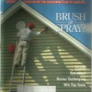 American How-To magazine- March/April 1995- Brush or spray